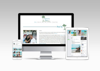 Branded Web Design & Social Media Management